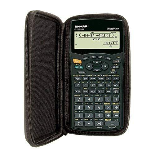 Schutztasche für Taschenrechner von Sharp, für Modell: EL W531