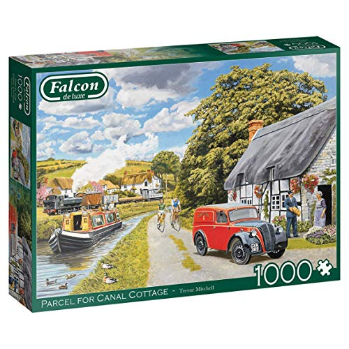 Jumbo, Falcon de luxe - Parcel for Canal Cottage, Jigsaw Puzzles for Adults, 1,000 piece