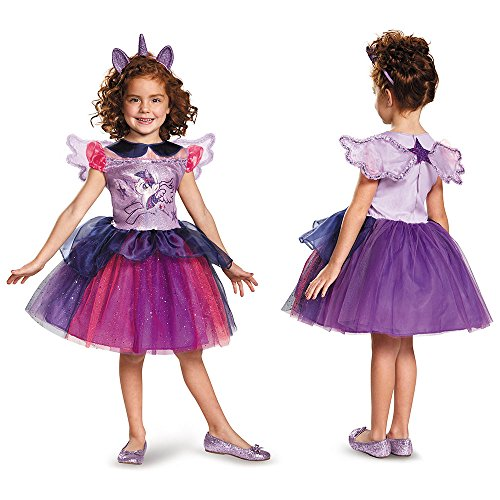 Disguise Twilight Sparkle Tutu Deluxe My Little Pony Costume, X-Small/3T-4T