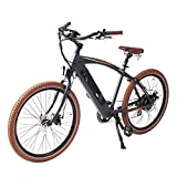 ONWAY 36v Ebike 26 Inch 500w Fat Beach Electric Cruiser Bike with LCD...
