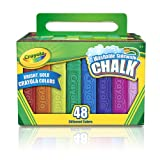Crayola Washable Sidewalk Chalk 48 Ct By Crayola Llc