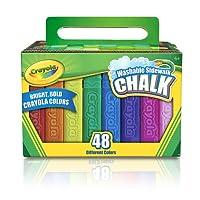 Crayola 洗える歩道チョーク 48カラット Crayola Llc