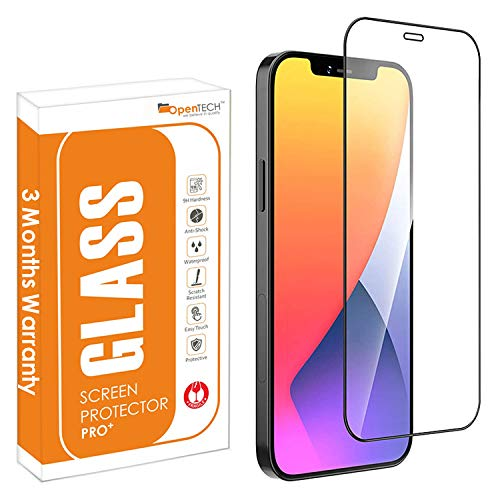 OpenTech Tempered Glass Screen Protector Compatible for iPhone XR / 11 with Edge to Edge Coverage and Easy Installation kit