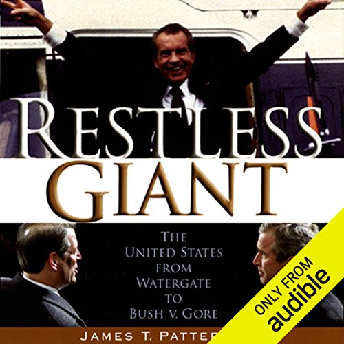 Restless Giant audiobook cover art