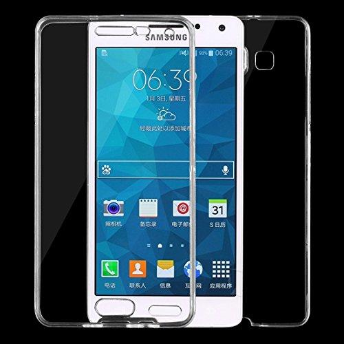 Schützen Sie Ihr Mobiltelefon Für Samsung Galaxy A5 / A500 0.75mm doppelseitiger ultradünner transparenter TPU Schutzhülle für Samsung Handy