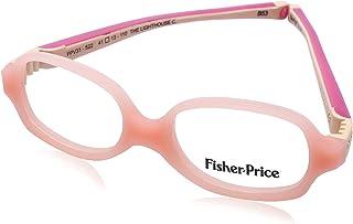 Fisher-Price FPV31 Rectangular Medical Glasses for Kids - Salmon