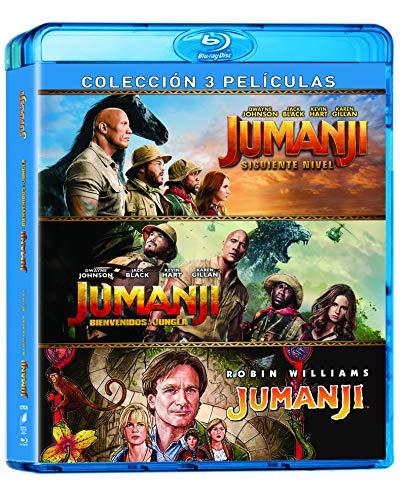 Trilogía Jumanji (Blu-Ray