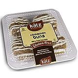Katz Gluten Free Cinnamon Buns | Dairy, Nut and Gluten Free | Kosher (1 Pack of 4 Buns, 10 Ounce)