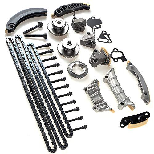 Mango S Compatibleu Engine Timing Chain Kit 9-0753S Chevrolet Buick Pontiac Cadillac Saturn 3.6L 3.0L