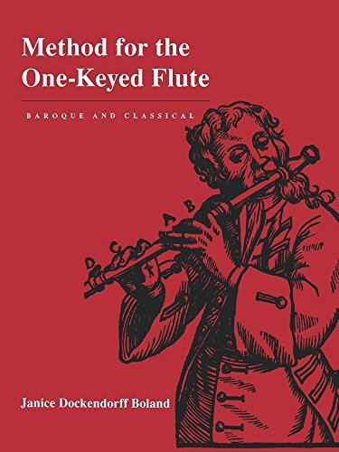 Boland, J: Method for the One-Keyed Flute
