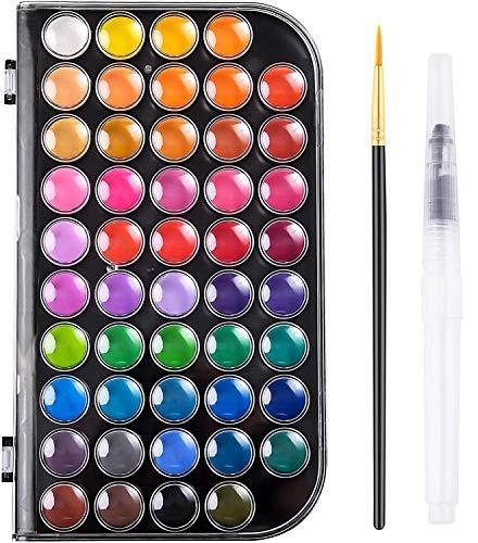 acuarelas 16 colores fabricante Weituro