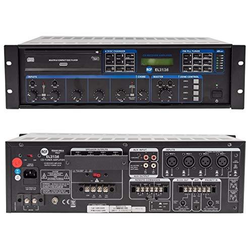 Amplificador Tuner CD RCF EL 2126