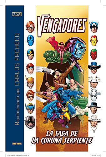 """Carlos Pacheco recomienda """"Los Vengadores. La saga de la Corona Serpiente"""" (MARVEL RECOMENDADO)"""