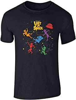 Lost in Space Floating Cast Graphic Tee T-Shirt for Men