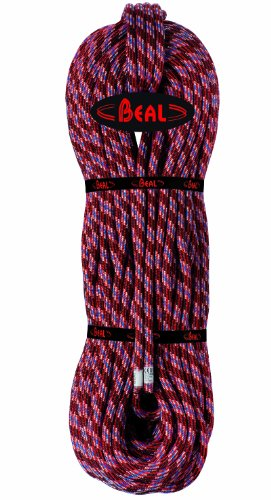 Beal CU098S.70 - Cuerda de Escalada, Color Rojo (Rouge), Talla FR: 9,8...
