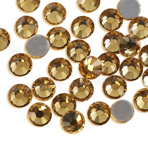 MFKW fix strass kristallen strass glitters flatback glas stenen voor DIY sprankelende bruiloft diamant jurk pailletten kunst