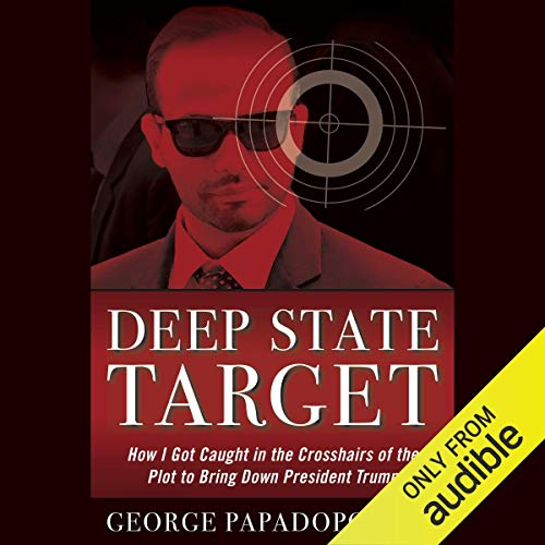 Deep State Target audiobook cover art