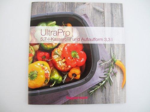 TUPPERWARE Rezeptheft 5,7L+3,3L Kasserolle und Auflaufform Ultra Pro Kochheft kochen Deutsch