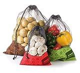 Tescoma Netz Taschen für Lebensmittel, Set von 34Food, Sortiert