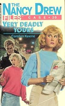 Very Deadly Yours (Nancy Drew Files Book 20) by [Carolyn Keene]