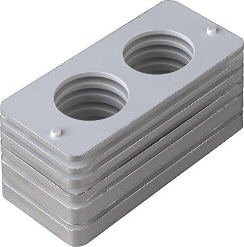 ABUS Unterlagen PR2600/PR2700 Silber 2er Set 432512