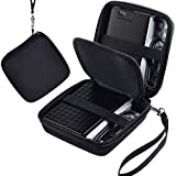 COMECASE Hard Case for WD Elements/Black My Passport/Toshiba HDTB410XK3AA Canvio Basics/Seagate Expansion/Backup Plus Slim 1 2 3 4 TB Portable External Hard Drive USB 3.0, Holds 2 Pack