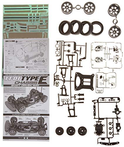 TAMIYA - 1:10 RC Porsche 911 GT3 Cup08 (TT-01E), Bausatz, zum Zusammenbauen, bebilderte Aufbauanleitung, ferngesteuertes Auto/Fahrzeug, Modellbau, Hobby, orginalgetreue Nachbildung, detailliert