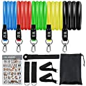Jianc 5-Piece Resistance Bands Set