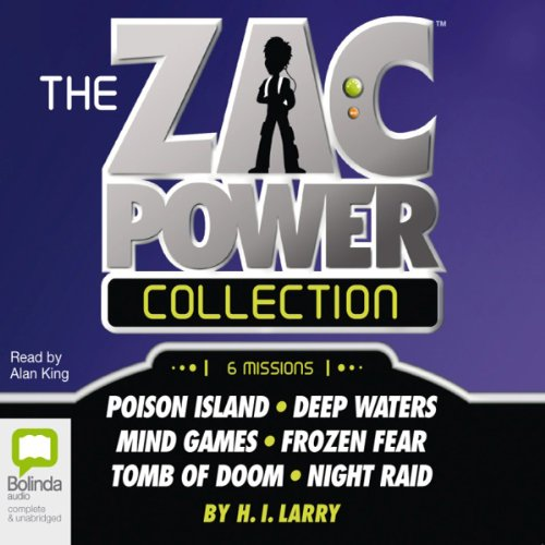 The Zac Power Collection cover art