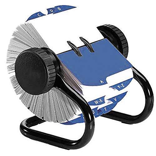 Rolodex Rollkartei Classic 66704 max. 500Karten 57x102mm schwarz - Schreibtischserien Rotationskarteien Karteien Adresskarteien Rollkarteien Visitenkartenablagen