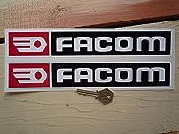 Facom Oblong Stickers ファコム ステッカー シール デカール 365mm × 60mm 2枚セット [並行輸入品]
