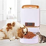 Homedecoam Programmierbarer Automatischer Futterautomat Futterspender für Hund und Katze Portion Control & Voice Recording - 3