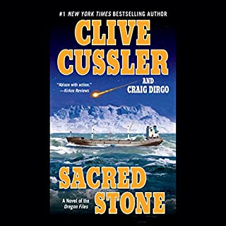 Sacred Stone     The Oregon Files, Book 2              Written by:                                                                                                                                 Clive Cussler,                                                                                        Craig Dirgo                               Narrated by:                                                                                                                                 J. Charles                      Length: 12 hrs and 2 mins     2 ratings     Overall 5.0