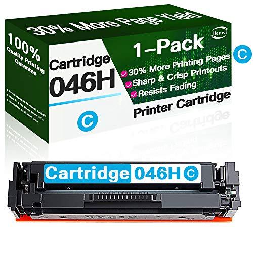 Henwi - Cartucho de tóner compatible para Canon 046H 046 CRG-046H de alto rendimiento para Canon Color imageCLASS MF735Cdw MF733Cdw MF731Cdw LBP654Cdw (1 unidad)