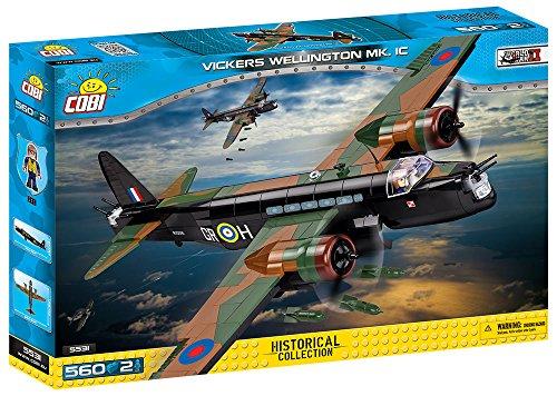 COBI 5531 Vickers Wellington MK.IC Spielzeug, Schwarz/grün/braun