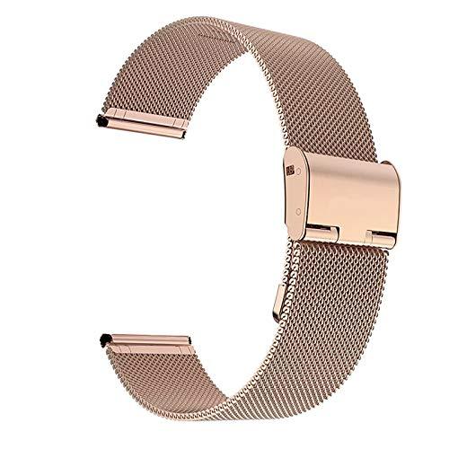 Correa De Reloj 22 mm 20 mm de Reloj de Reloj de Reloj Compatible con Samsung Galaxy Watch Active 2 Band Compatible con Samsung Gear S3 Strap Compatible con Samsung Galaxy Watch 42mm 46mm Nylon