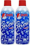 Greenco Spray for Christmas Decoration Artificial 13 oz Fake Snow (Pack of Two)