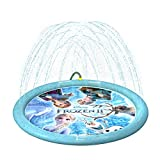 """DISNEY FROZEN 2 SPLASH MAT: Get ready to make a splash with the Disney Frozen 2 Splash Mat by GoFloats! Includes one 60"""" Splash Mat and Water Valve for pressure adjustment BEAT THE HEAT: The GoFloats Splash Mat is the ultimate way to beat the heat an..."""