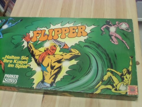 Flipper - Halten Sie Ihre Kugel im Spiel (Brettspiel).