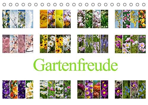 Gartenfreude (Tischkalender 2022 DIN A5 quer): Des Gärtners Freude ist wenn alles blüht. (Monatskalender, 14 Seiten )