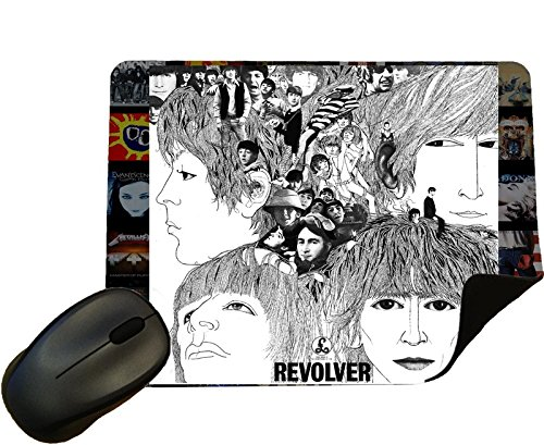 The Beatles - Revolver Album Cover Mouse Mat/Pad - door Eclipse Gift Ideas