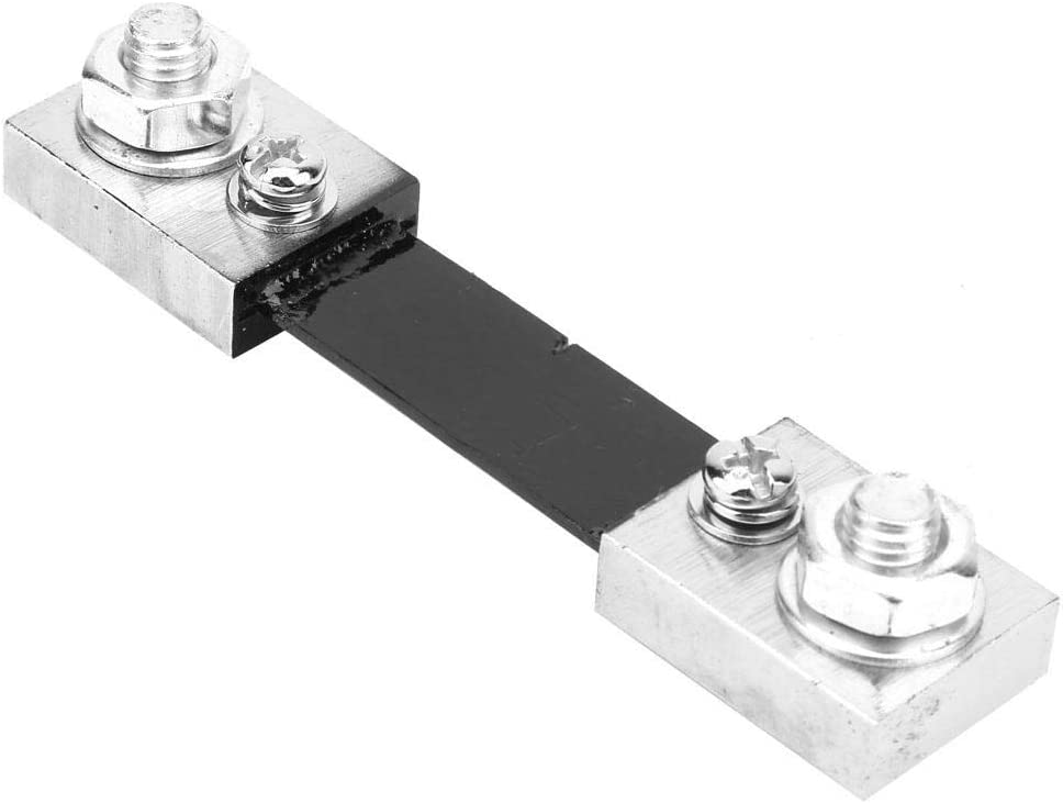 50A Fafeicy 50A//100A Current AMP Shunt Resistor 75mV FL-2 Fit for Digital Ammeter Analog Meter