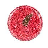 Frcolor Haarseifen Natural Kaneel Haarwuchs Seife für Haarausfall Reinigung (Rot)
