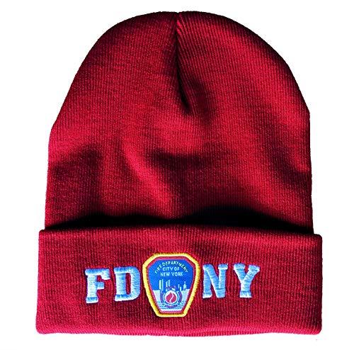 FDNY Wintermütze Beanie Skull Cap Offizielles Lizenzprodukt von The New York City Fire Department