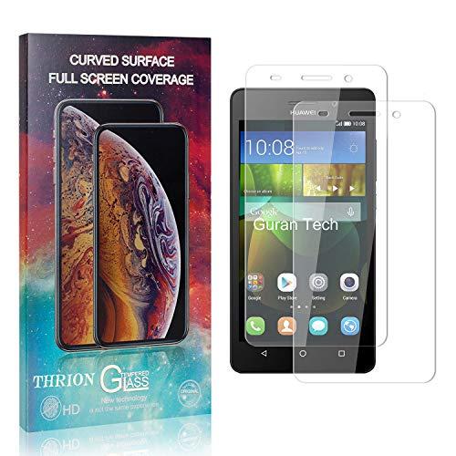 THRION 2 Stück Panzerglas Folie Schutzfolie für Honor 4C, HD Anti-Kratzen Bildschirmschutzfolie für Huawei Honor 4C