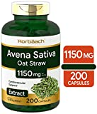 SOOTHING SATIVA: Traditional Herbal Supplement, universally beloved in wellness for centuries! MAXIMUM ABSORPTION: Two Quick-Release capsules deliver the equivalent of 1150 mg per serving ADVANCED HERBAL SUPPORT: Avena Sativa or Oat Straw, contains s...