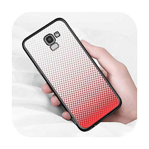 Moda Color Block Art Per Samsung Galaxy J2 J3 J4 Core J5 J6 J7 J8 Prime Duo Plus 2018 2017 2016 Case-Style 01-per j5 2016