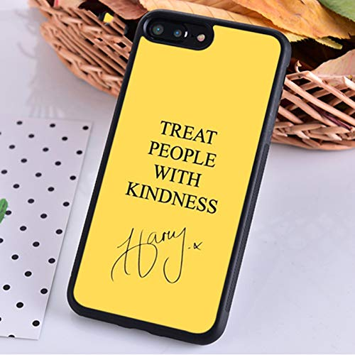 Treat People With Kindness Harry Styles - Carcasa para iPhone 5s, 6s, 7, 8 Plus, X, XS XR 11, 12 Pro Max, Samsung S7, S8, S9, S10-006, para Galaxy S10