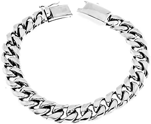 Details about  /Mens Wide 10mm Double Braid Bali Handmade 925 Sterling Silver Bracelet
