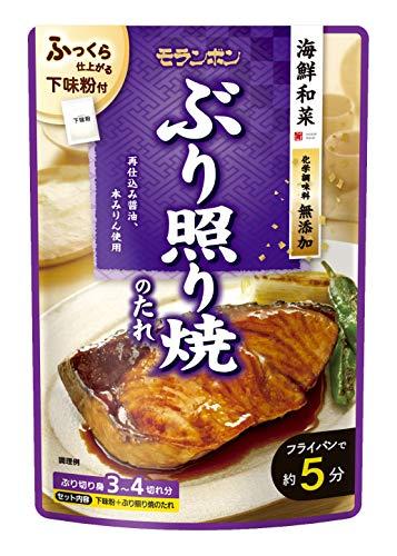 モランボン 海鮮和菜 ぶり照り焼のたれ 100g ×10袋
